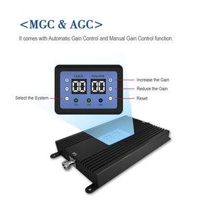 Image 2 - Lintratek 80db Alto Ganho GSM Poderoso 4G LTE Sinal De Reforço 900Mhz 1800mhz 25dBm Repearer Celular Telefone Celular com AGC e MGC *