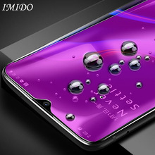 купить IMIDO Full Coverage Anti Blue Tempered Glass for Oneplus 7 Anti-Blue Ray Screen Protector for One Plus + 7 Protective Film по цене 111.54 рублей