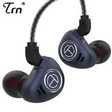 Trn v90 1dd 4ba híbrido metal no ouvido fone de ouvido iem monitor de alta fidelidade correndo esporte fone de ouvido fone de ouvido 2pin destacável ba5/st1/v30