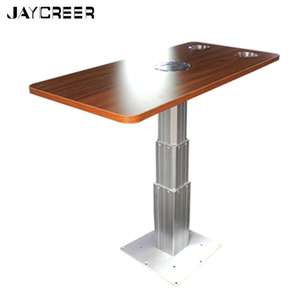 JayCreer Liftable Scalable RV Table Desk With Attachments Mount For Boat,Marine ,RV,Home ...