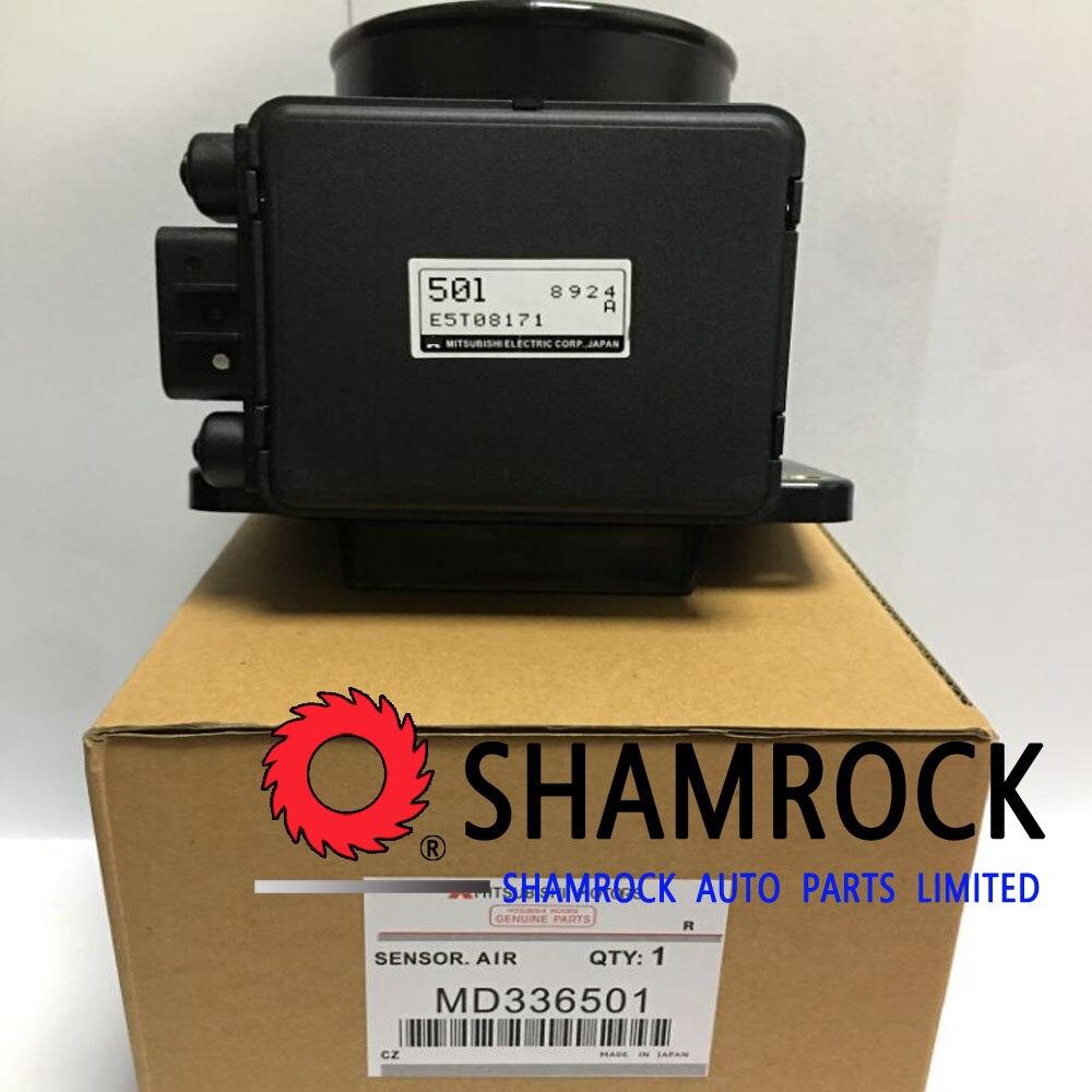 OEM Genuine Mass Air Flow Sensor Meter Dodge Chrysler Mitsubishi V6 L4 MD336501