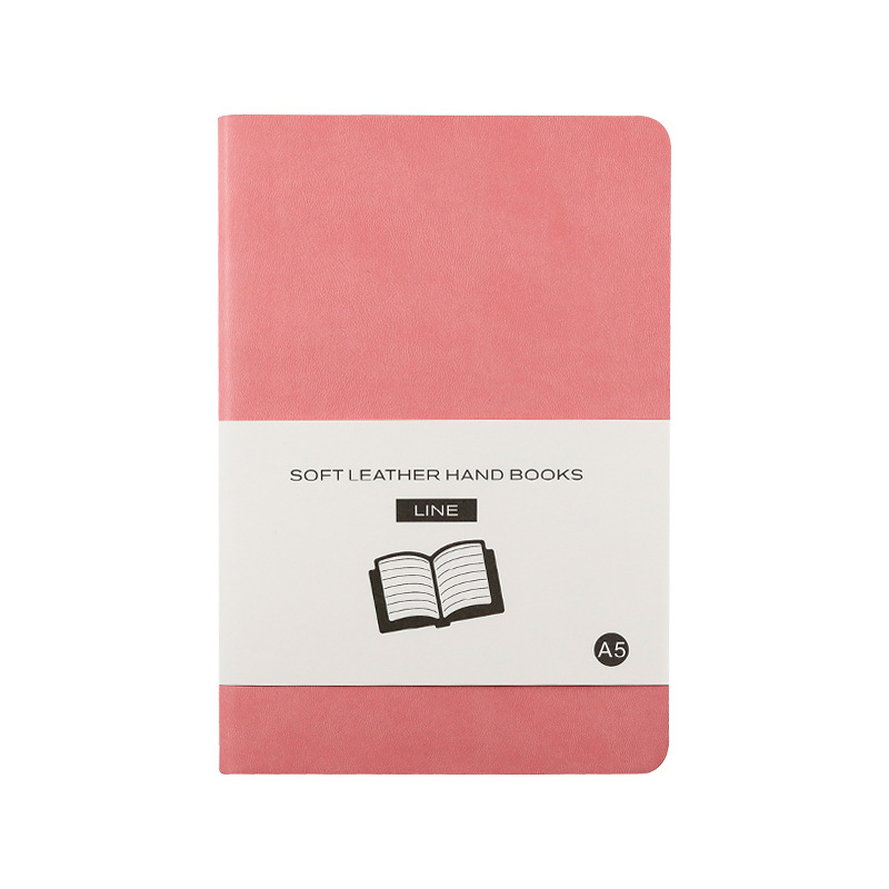 Soft Cover Plain Notebook Simple Diary Blank Journal
