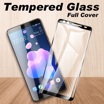 Перейти на Алиэкспресс и купить Полное покрытие из закаленного стекла для HTC Desire 19s 12s 12 U12 U11 U19e 19 Plus 10 Evo U Ultra Play Защитная пленка для экрана