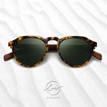 Lm брендовые новые дизайнерские деревянные солнцезащитные очки