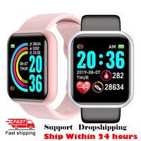 Y68 D20 Smart Watch 2021 per uomo donna cardiofrequenzimetro Smartwatch sportivo impermeabile per Andriod IOS Smart Clock