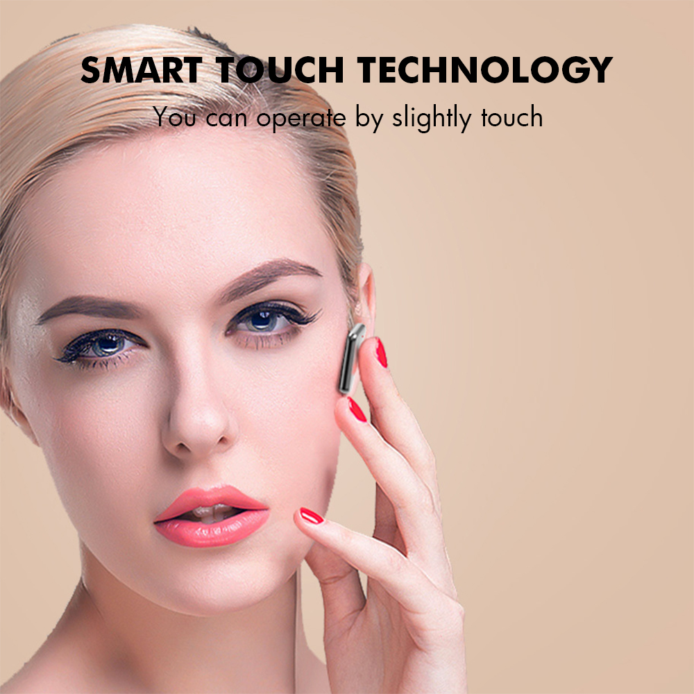 S15 Bluetooth 5.0 Wireless Headphones Earphones TWS Hifi Headset Bass Earbud with Power Display Touch Control Ear Detection 4