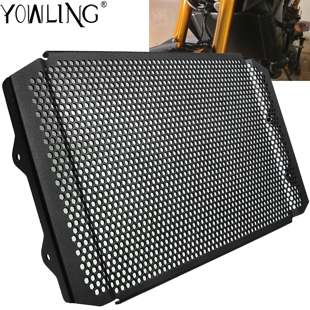 Мотоциклетная решетка радиатора защитная решетка гриль крышка для YAMAHA XSR900 XSR 900 FZ 09 MT 09/sp tracer 900/GT 2016 2017 2018Накладки и декоративные молдинги    АлиЭкспресс