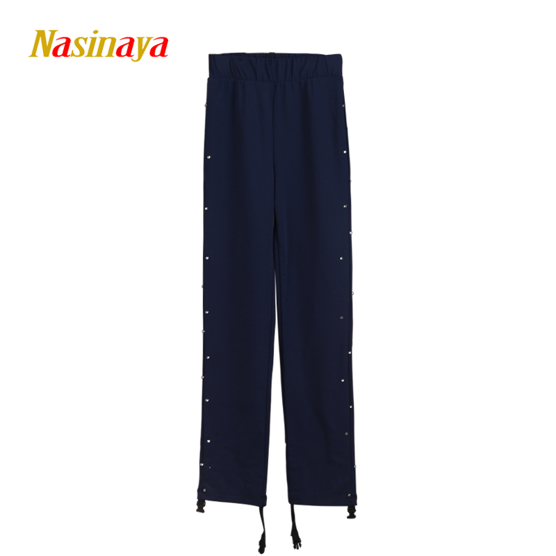 Customized Clothes Ice Skating Costume Figure Skating Pants Boys Man Trousers Adult Child Girl Rhinestones Polyamide Fibre