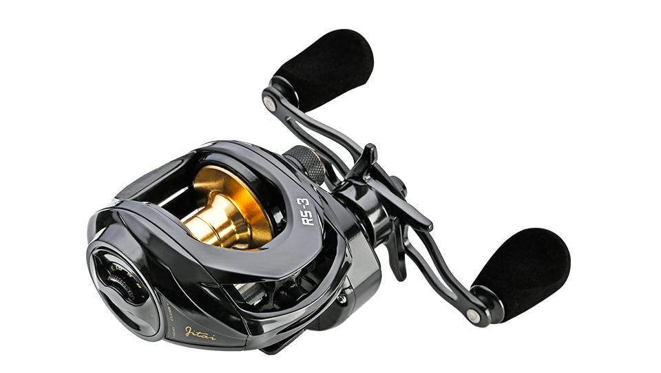 pesca 7.3:1 alta velocidade 19 lb max