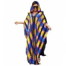 150 centimetri di lunghezza Abiti Africani Per Le Donne 2019 Abbigliamento Africa Musulmano Vestito Lungo di Alta Qualità di Modo di Lunghezza del Vestito Da Africano Per della signora