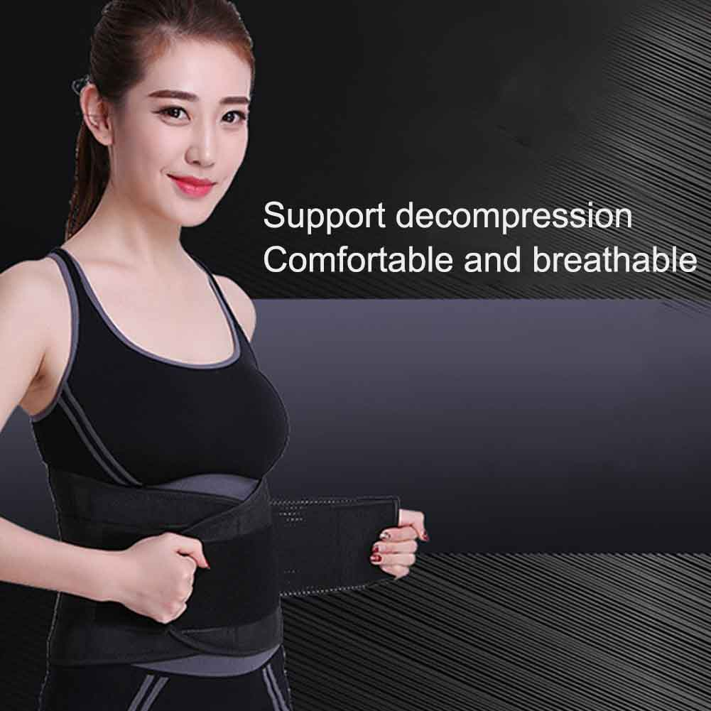 Women Men Muscle Compression Training Body Shaper Adjustable Supporting Waist Trimmer Weight Loss Abdominal Sweat Wrap Workout