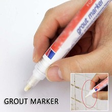 Граут маркер самоклеящаяся плитка маркер ремонт стены ручка белый без запаха нетоксичный для плитки пол