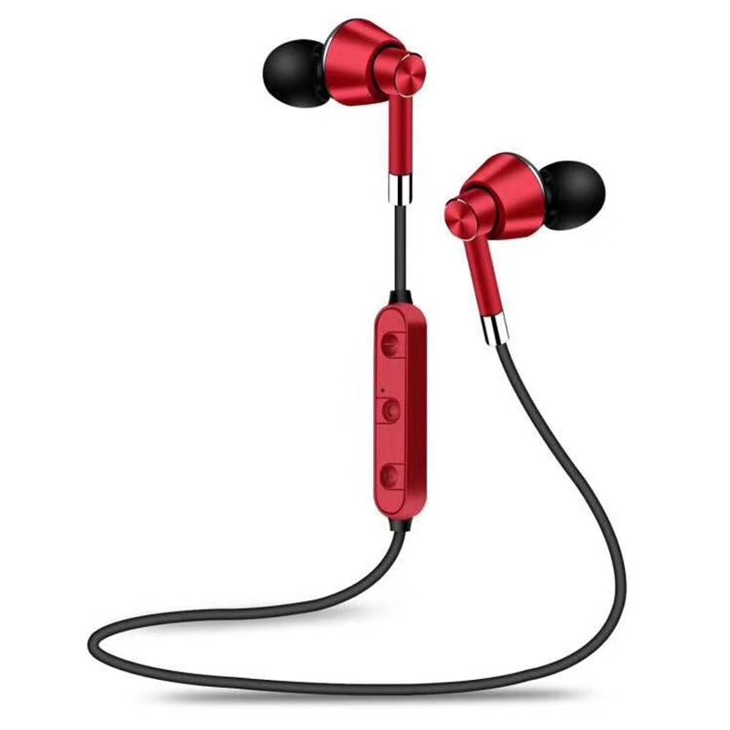 Sweatproof Wireless Bluetooth Earphones Sport Gym Headphones for iPhone Samsung