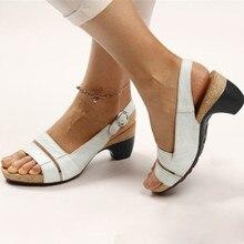 MUQGEW; женские модные сандалии; сезон весна-осень; Повседневная Мягкая дышащая обувь на низком каблуке с открытым носком и пряжкой на ремешке; римские сандалии; Sandalias Mujer