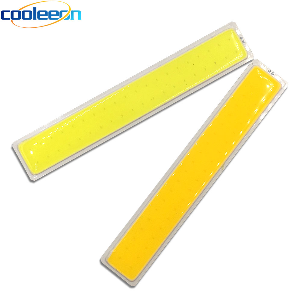 150x26MM COB LED Bar Light Strip 15CM Warm Cold White Color 12V 5W LED Bulb 150MM Chip On Board Lighting Source For Auto Lamps