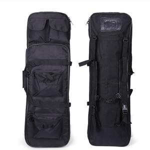 Image 1 - Тактический Чехол кобура для ружья страйкбольной винтовки, вместительный нейлоновый рюкзак на плечо 81 см, спортивная сумка для охоты