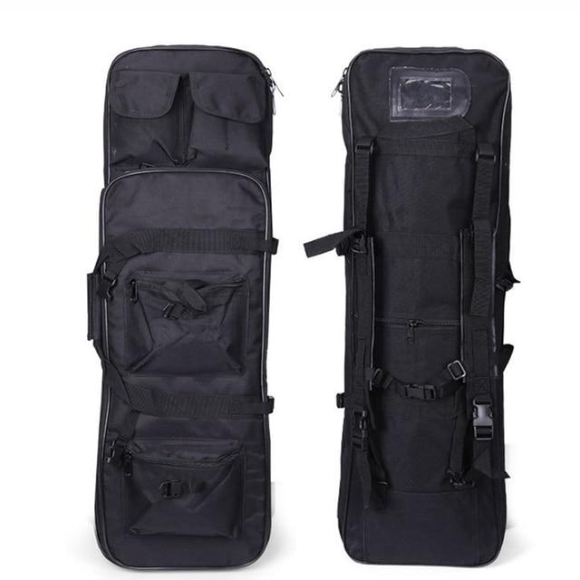 التكتيكية بندقية الحافظة الادسنس بندقية بندقية حمل حقيبة سعة كبيرة النايلون حقيبة ظهر تحمل على الكتف 81 سنتيمتر الصيد الرياضة حقيبة
