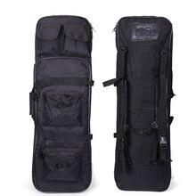 전술 총 홀스터 Airsoft 소총 총 운반 케이스 대용량 나일론 어깨 배낭 81cm 사냥 스포츠 가방