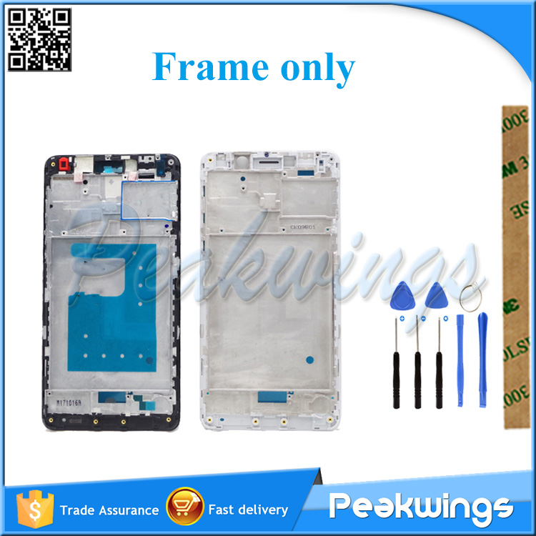 Housing LCD Display Frame For <font><b>Huawei</b></font> <font><b>GR5</b></font> <font><b>2017</b></font> / Honor 6X Middle Frame Only Frame NO LCD image