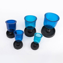 5pcs/set Dental Blue Flasks Rings Plastic Casting Flasks Rings Round Formers Base Wax Dental Lab Tools Rubber Embedding Ring стоимость