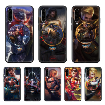 LOL League Joint Legends Game Phone case For Huawei P 30 10 20 40 Lite Smart Z Pro 2019 black back pretty cover 3D coque tpu image