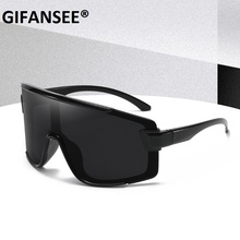 GIFANSEE Shield Visor Mask Sunglasses Women Men 2020 Oversiz