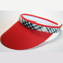 Hat Visor-Hat Tennis-Cap Plastic Topless Women Summer Wholesal New-Fashion And Outdoor