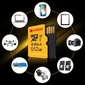 Image 5 - Kodak Micro SD U3 U1 Micro SD Memory Card Micro SD 512GB 256GB 64GB 128GB Flash TF Card for Tablet карта памяти cartao de memori