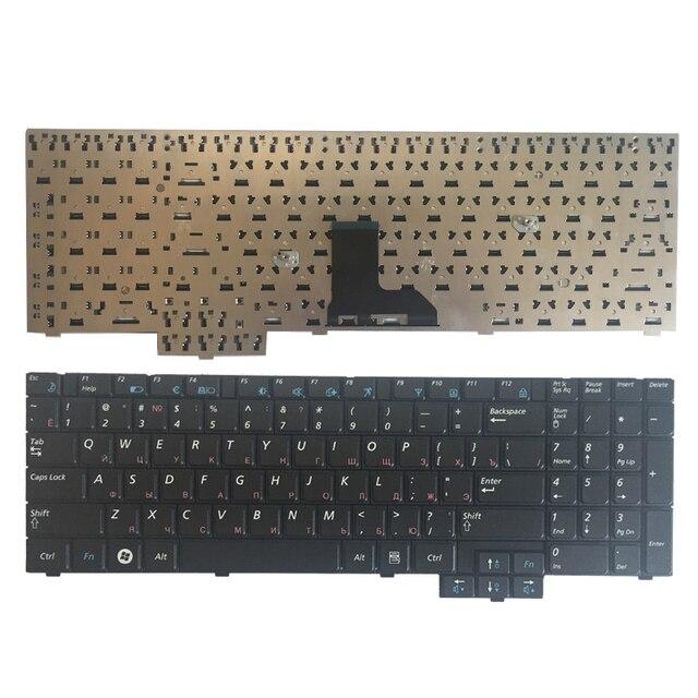 מקלדת רוסית חדשה עבור SAMSUNG RV510 NPRV510 RV508 NPRV508 S3510 E352 E452 RU מקלדת מחשב נייד שחור
