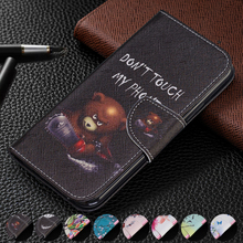 Wallet Card Slots Flip PU Leather Case Cover For Huawei Y9 2018/Y7 2019/Y6 2019/Y5 2018/Y3 2017 w/Stand Feature Magnetic Closure