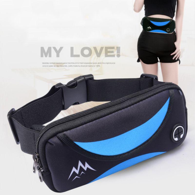 Waist Bag Multifunctional Running Waist Bags Waterproof Mobile Phone Holder Jogging Belt Belly Women Gym Fitness Bag Lady