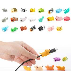 Cable-Protector Protective-Cell Computers Data-Line Soft-Silicone New Cute Anti-Break
