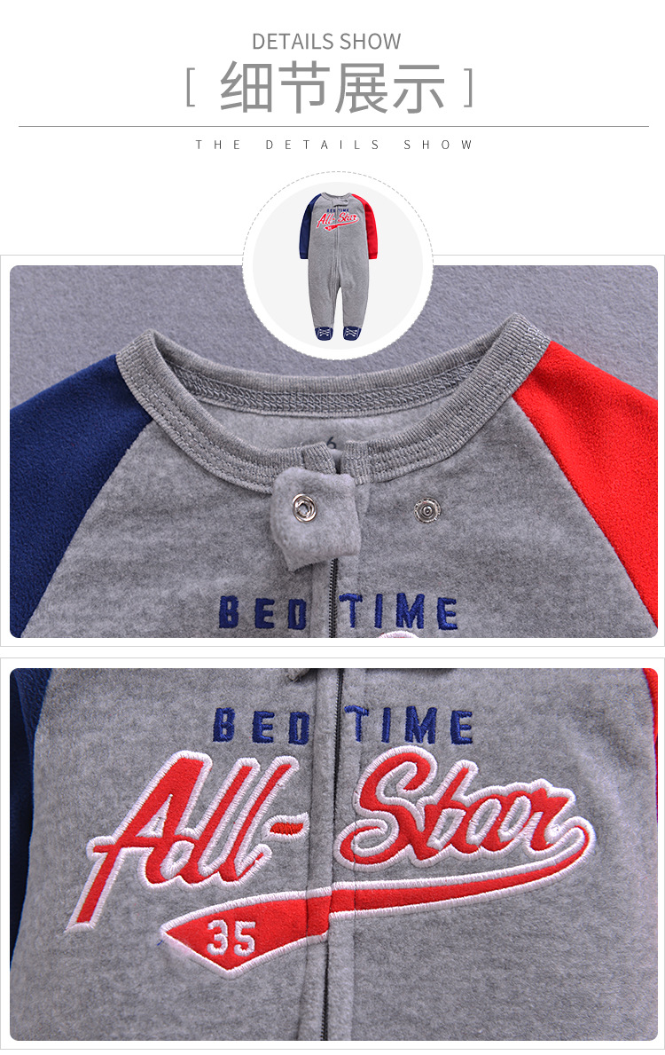 Mother & Kids ... Baby Clothing ... 32372037846 ... 4 ... 2020 new Winter Fleece baby clothes baby girls boys  Long sleeves bodysuit baby boy jumpsuit ...