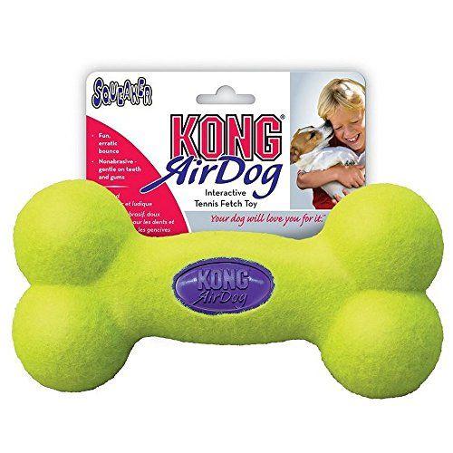 KONG Air Squeaker Bone Medium Games For Dogs