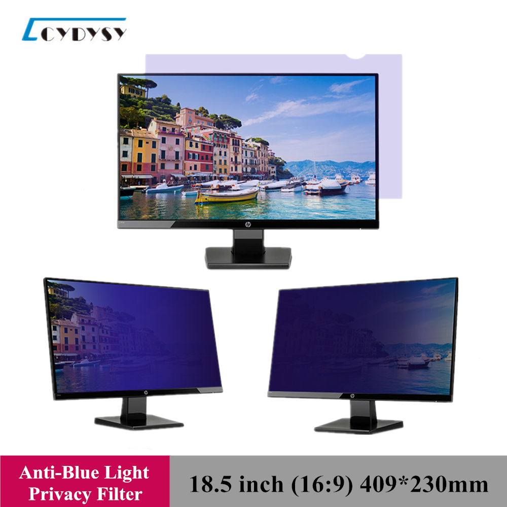 18.5 Inch LG Anti-Blue Light Privacy Filter Anti-Glare Screen Protective Film For 16:9 Widescreen Computer  409mm*230mm