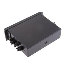 Durable Single Din Car CD Player Radio Stereo Dash Trim Storage Pocket Box