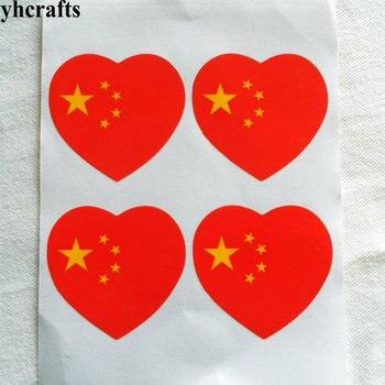 50~100PCS/LOT,Chinese national flag stickers Five-Starred Red flag adhesive stickers National day Love China flag Wholesale OEM united arab emirates national flag 90 150cm 60 90cm 15 21cm for national day
