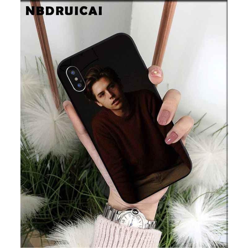 Nbdruicai americano tv riverdale série tpu macio silicone caso do telefone para o iphone 11 pro xs max 8 7 6 s plus x 5 5S se xr