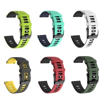 Amazfit Strap for Xiaomi Huami Amazfit GTS / GTR 42mm / Bip lite Watch Silicone Band Wristband Straps Accessories 20mm Watchband