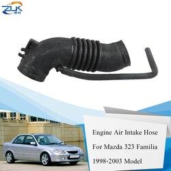 ZUK silnik samochodowy powietrza cleaner wąż doprowadzający powietrze przepływ powietrza rury dla Mazda 323 Familia Protege 1.5L 1.6L 1998 1999 2000 2001 2002 2003