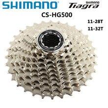 Shimano Tiagra CS HG500 Xe Đạp Đường Bộ 10 Tốc Độ Kiêm Con Quay Chắc Chắn Cassette Cho 10 Tốc Độ Đường Drivetrains