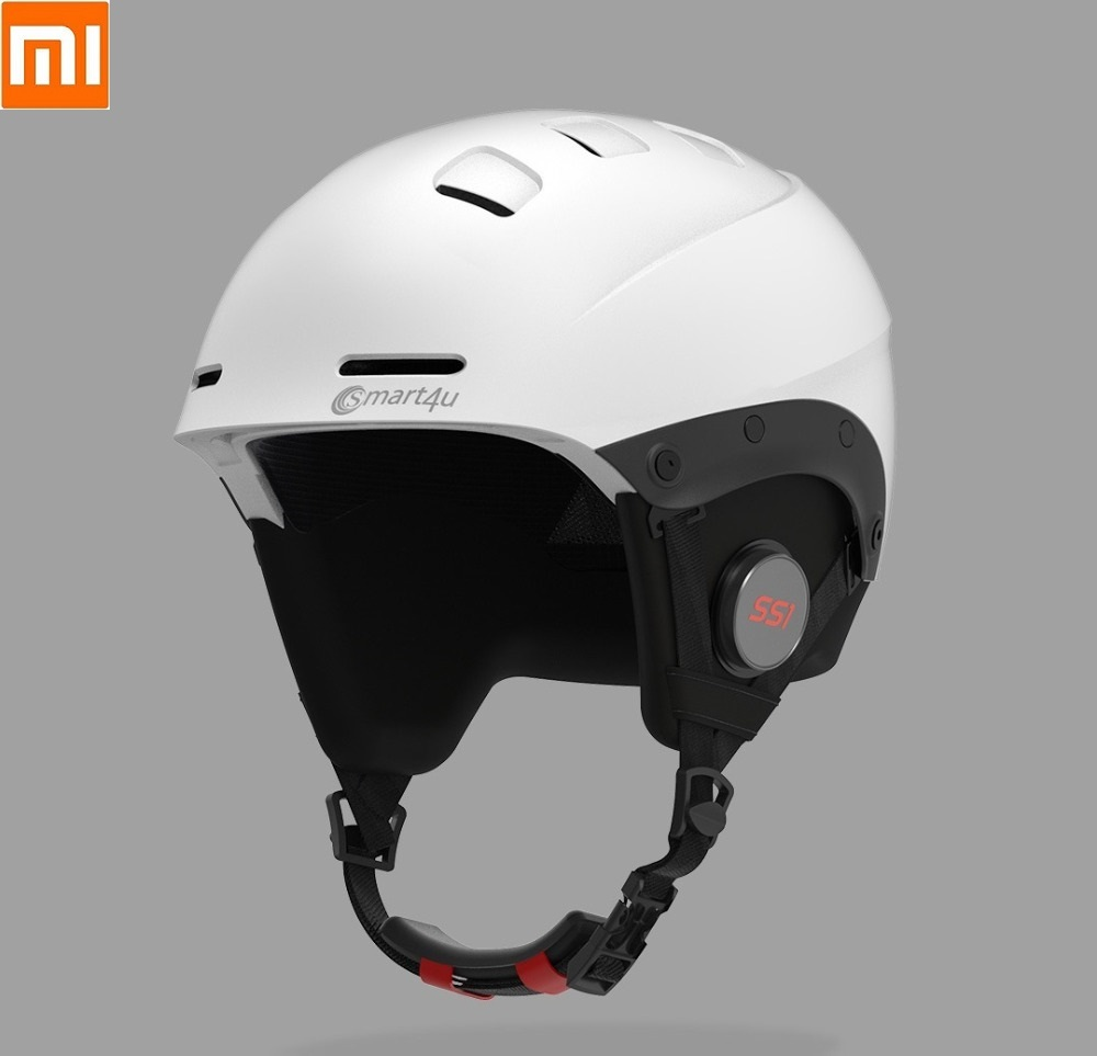 Xiaomi Youpin Ski Helmet Bluetooth Phone Men And Women Ski Equipment Protective Gear Warm Breathable Professional Sports Helmet