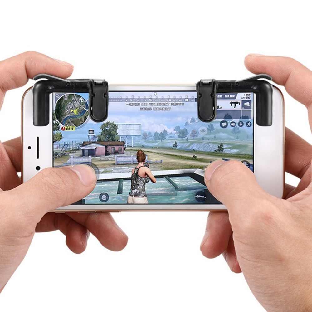 Cho Pubg Bộ Điều Khiển Chơi Game Cho Game Joystick Chơi Game Kích Hoạt Tế Bào Điện Thoại Di Động Lửa Nút L1R1 Mục Đích Chìa Khóa Cho iPhone Android xiaomi