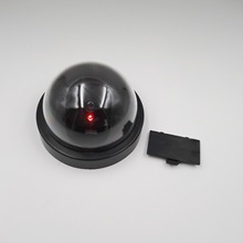 Flashing Red LED Light Surveillance security CCTV Dome Camera camera dummy fake ball