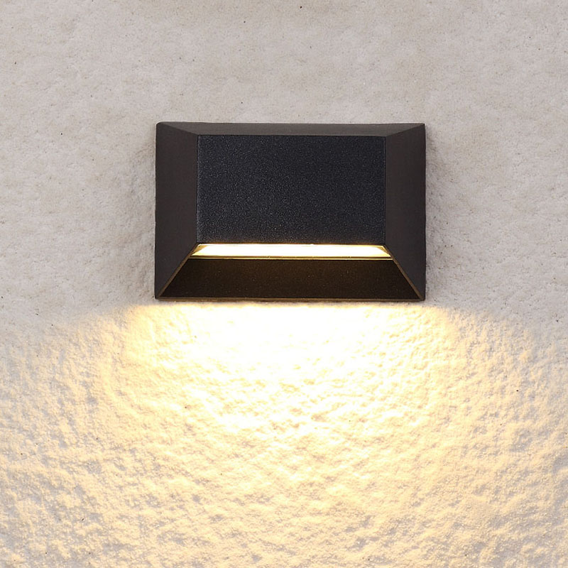 LED Outdoor Waterproof (IP55) Wall Lamps, Garden / Balcony Decorative Wall Light, Creative Wall Light