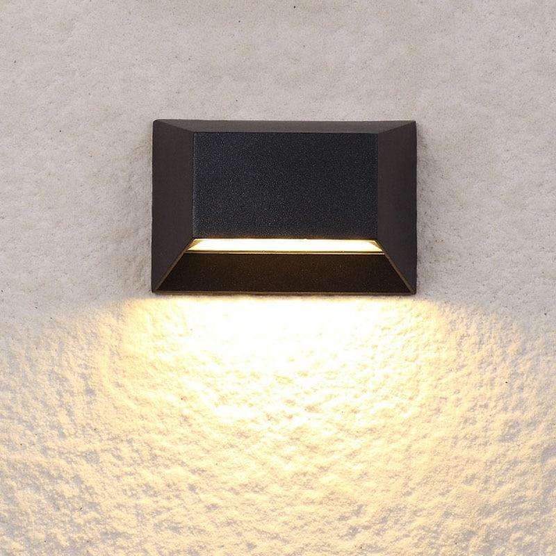LED Outdoor Waterproof (IP55) Wall Lamps, Garden / Balcony Decorative Wall Light, Creative Wall Light