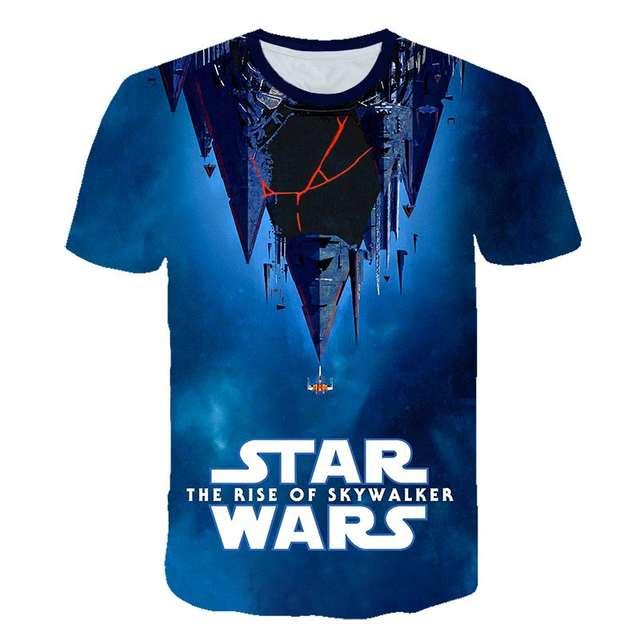 Star Wars The Rise Of Skywalker T Shirt Mandalorian Kids Adults Streetwear Hip Hop Short Sleeve 3d Casual Shirt T Shirt Men T Shirts Men S Clothing Aliexpress