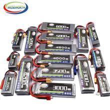3s baterias 11.1v 2200 2800 3300 3800 4200 5200 6000mah 30c40c60c rc brinquedos lipo bateria 3s para rc helicóptero aeronaves quadcopter