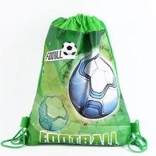 1 шт./лот мир нетканый тканевый рюкзак ребенок путешествия школьная сумка украшения Подарочный мешок на шнурке сумка для покупок