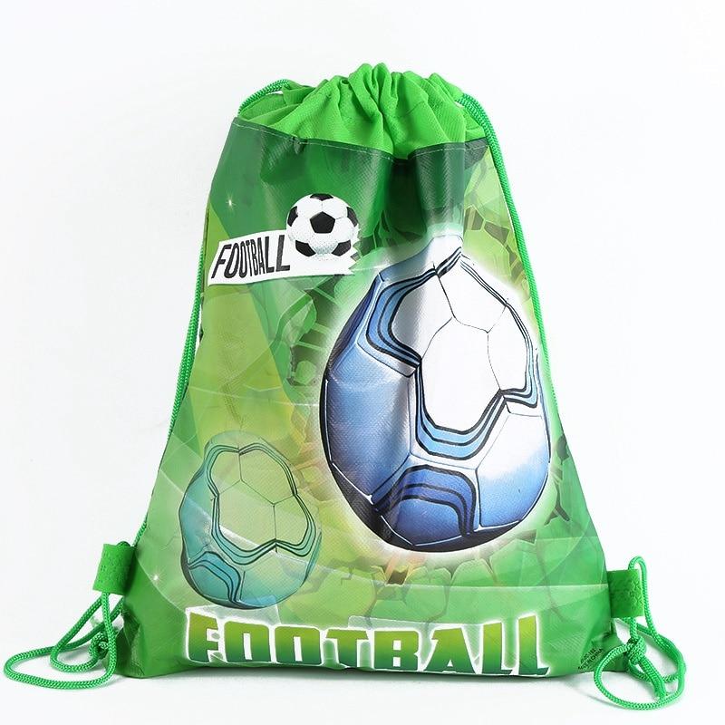 1pcs/lot  World Non-woven Bag Fabric Backpack Child Travel School Bag Decoration Drawstring Gift Bag Shopping Bag
